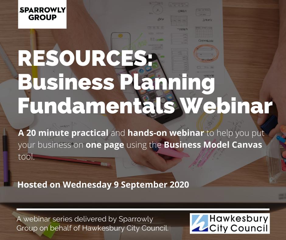 Resources - Planning