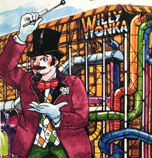 School holiday activity - Charlie and the Chocolate Factory