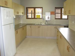Photo of the Kitchen in the North Richmond Community Centre