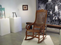 Please take a seat and just a few chairs: Niomi Sands