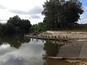 Governor Phillip Park boat ramp