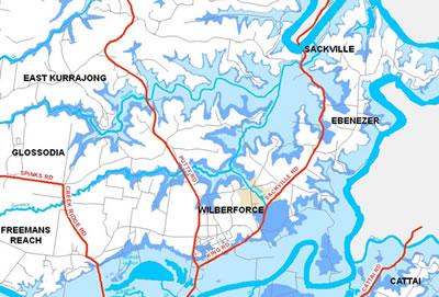 Flood Extent Image - North