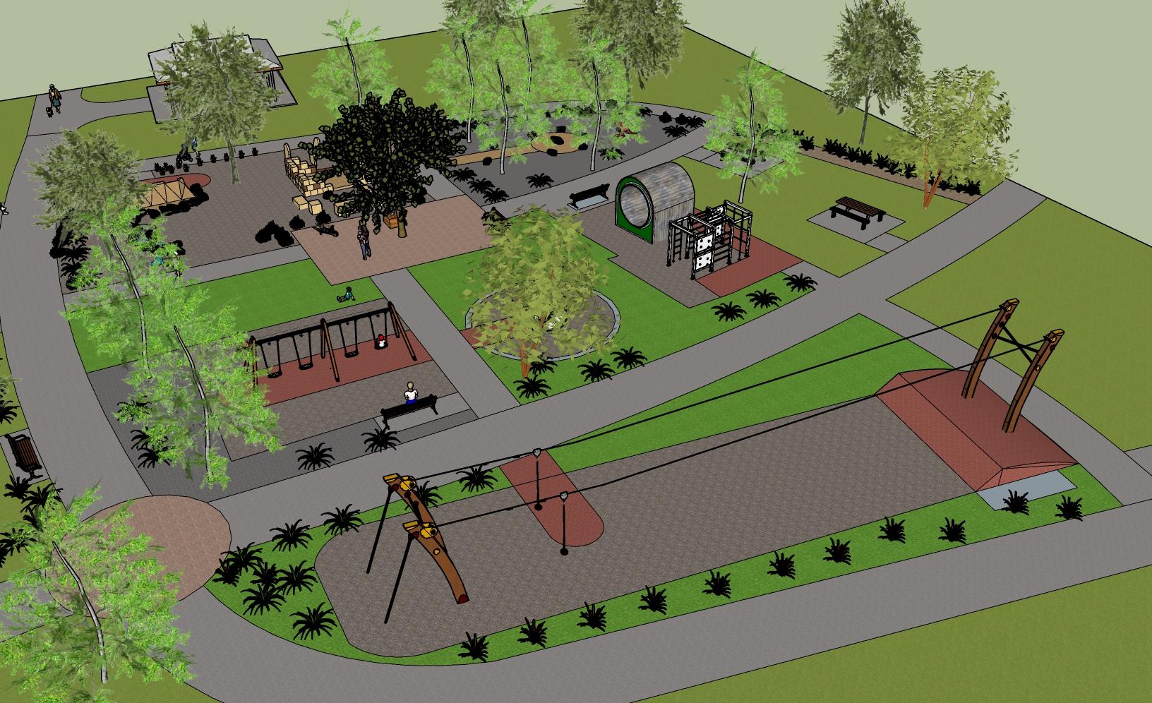 Park Upgrade - Church Street Reserve