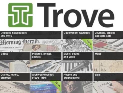 History   Treasures on Trove
