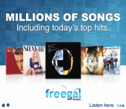 Freegal: Downloadable music and music videos