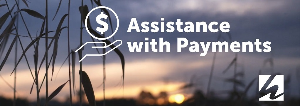 Assistance with Payment banner