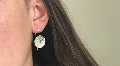 Adult workshops - Silver jewellery with Jules Reed